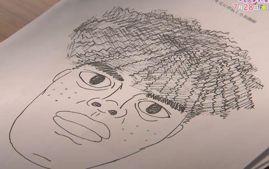 ハコヅメの河合の犯人の似顔絵